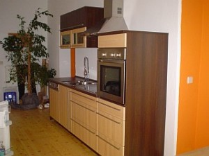 Appartement-Küche im Holländerviertel in Potsdam